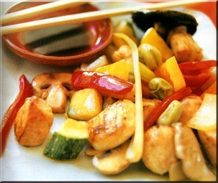 Chop Suey de Pollo Chop Suey