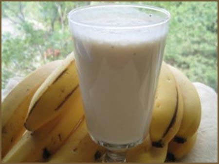 Como hacer un licuado de banana