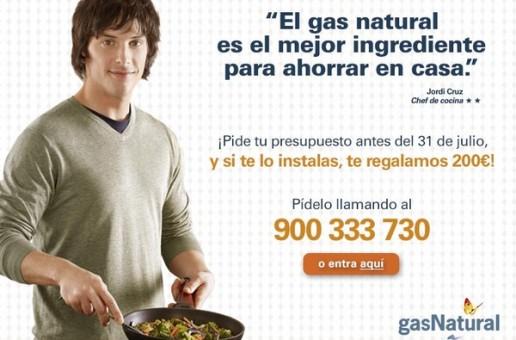 Una nueva campaña de Gas Natural  para ahorrar en la cocina