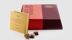 Sorprender a alguien con chocolate