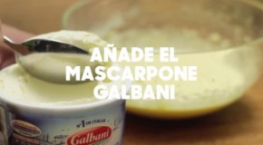 Mascarpone Galbani, dándole un toque ideal al Tiramisú